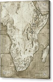 Hominid Fossil Sites In Africa Acrylic Print by Kennis & Kennis/MSF