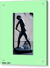 Homme Grand By Taikan Acrylic Print