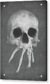 Homo Spidercus Acrylic Print by Joseph Westrupp