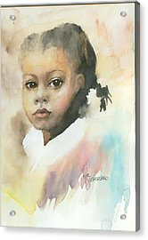Honey Child Acrylic Print