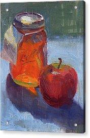 Honey Jar Acrylic Print by Donna Shortt