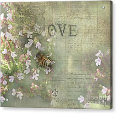 Honey Love Acrylic Print