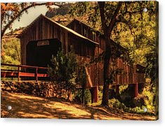 Honey Run Covered Bridge Acrylic Print