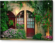 Honey Stone House Acrylic Print by John Galbo