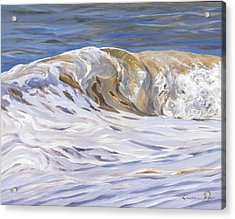 Honey Wave Acrylic Print