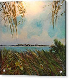 Honeymoon Island Acrylic Print by Michele Hollister - for Nancy Asbell