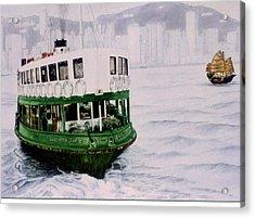 Hong Kong Ferry Acrylic Print