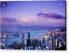 Hong Kong Harbor Acrylic Print by Gloria & Richard Maschmeyer - Printscapes