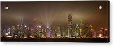 Hong Kong Island Acrylic Print