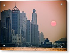 Hong Kong Island Acrylic Print by Ray Laskowitz - Printscapes