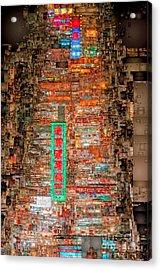 Hong Kong -yaumatei Acrylic Print