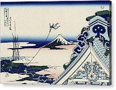 Honganji Temple At Asakusa In The Eastern Capital Acrylic Print