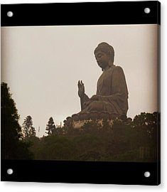 Tian Tan Buddhah - Hong Kong Acrylic Print