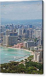 Honolulu Hawaii  Acrylic Print