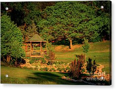 Honor Heights Gazebo Acrylic Print