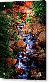 Honor Heights Park Hidden Stream Acrylic Print