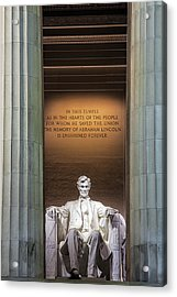 Honored For All Time Acrylic Print by Andrew Soundarajan