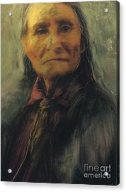 Honoring Geronimo Acrylic Print