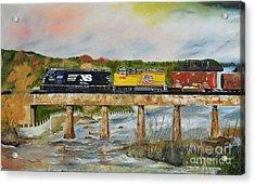 Hooch - Chattahoochee River - Columbus Ga Acrylic Print