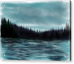 Hood Canal Puget Sound Acrylic Print