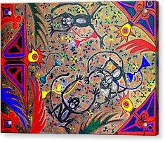 Hookah Monkeys - Jinga Monkeys Series Acrylic Print