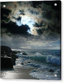 Hookipa Waiola  O Ka Lewa I Luna Ua Paaia He Lani Maui Hawaii  Acrylic Print
