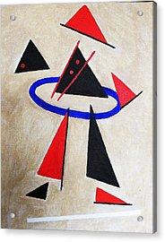 Hoola Hoop Acrylic Print