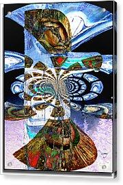 Hoonah Totem Acrylic Print