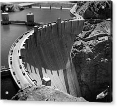 Hoover Dam, 1948 Acrylic Print by Everett