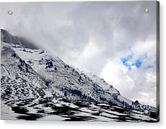 Hope Above Acrylic Print by Olivier Le Queinec