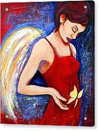 Hope Acrylic Print by Claudia Fuenzalida Johns