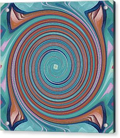 Hope Does Spring Eternal - T J O D 31 Arrangement 1 Swirled Acrylic Print