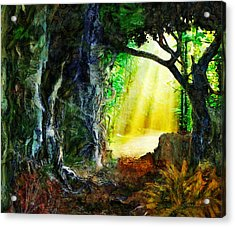 Acrylic Print featuring the digital art Hope by Francesa Miller