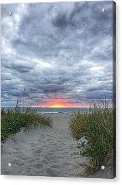 Hope On The Horizon Delray Beach Florida  Acrylic Print