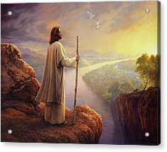 Hope On The Horizon Acrylic Print by Greg Olsen