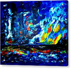 Acrylic Print featuring the painting Hope by Piety Dsilva