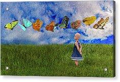 Hope -- Textured  Acrylic Print