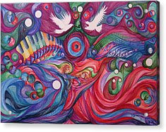 Hope Through Creation Acrylic Print by NHowell
