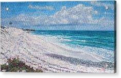 Hope Town Beach Acrylic Print