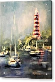 Hope Town Harbor Acrylic Print