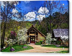 Hope Wilderness Chapel 2 Acrylic Print by Jean Hutchison