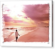 Acrylic Print featuring the photograph Hope's Horizon by Marie Hicks