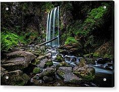 Hopetoun Falls Acrylic Print by Mark Lucey