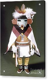 Hopi Kachina Doll Acrylic Print by Granger