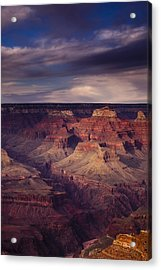 Hopi Point - Grand Canyon Acrylic Print by Andrew Soundarajan