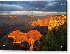 Hopi Point Sunset 1 Acrylic Print by Arthur Dodd