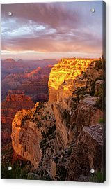 Hopi Point Sunset 2 Acrylic Print