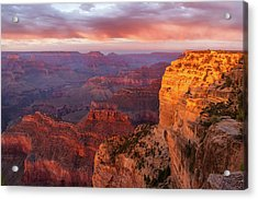Hopi Point Sunset 3 Acrylic Print by Arthur Dodd