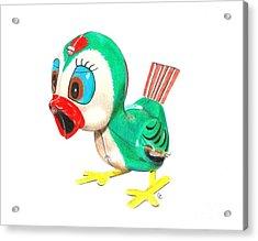 Hopping Billy The Bird Acrylic Print