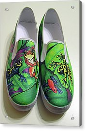 Hoppy Shoes Acrylic Print